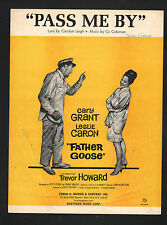 Pass Me By 1964 Cary Grant Leslie Caron in Father Goose