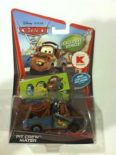 Disney Pixar CARS 2 PIT CREW MATER Headset Kmart Exclusive Car