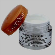Lancome Bienfait Multi-Vital High Potency Dailying Moisturizing Cream 0.5 oz