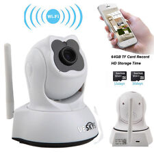 Wireless Pan Tilt 720P HD Network IP Camera Wifi Security Two-way Audio IR CUT