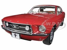 1967 FORD MUSTANG GT RED USA EXCLUSIVE L.E. 300pc 1/18 BY GREENLIGHT 50842