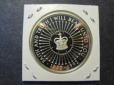 """GREAT BRITAIN 1993 PROOF SILVER 5 POUNDS """" FAITH AND TRUTH I WILL BEAR UNTO YOU"""""""