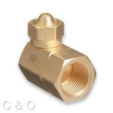 WESTERN # 321 ACETYLENE ADAPTOR CGA-200 TO CGA-510 MC TANK to POL REGULATOR