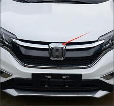 ABS Chrome Front Grill Grille Frame Trim 1pcs For Honda CRV CR-V 2015 2016