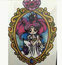 Sailor Moon Tsukino Usagi Small Lady Serenity Tattoo Body Stickers Waterproof