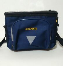 Bikemate Front Cycle Cool Bag Rain Cover Blue Bicycle Bike