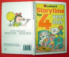 Storytime For 4 Year Olds Ladybird book animals fairy reading children gloss