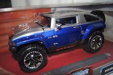 Hummer HX Conzept blau silber 1:18 Maisto Custom Shop neu & OVP 31334