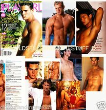 PLAYGIRL 1-04 JANUARY 2004 AMY SEDARIS HARRISON FORD LAL MEN OF 04 BLONDS