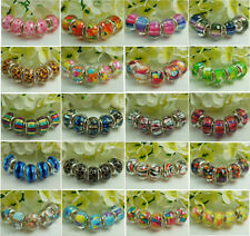 50pcs mix Charm beads fit European Bracelet Accessories wholesale a2