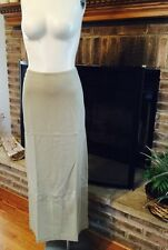 NEW Horny Toad Women's Ogallalla  Lyocell Blend Long Pencil Like Knit Skirt M