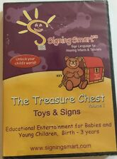 The Treasure Chest Volume 1 - Toys and Signs NEW SEALED Language Toddlers ASL