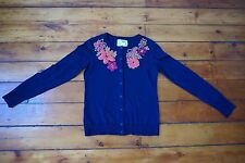 Anthropolgie cardigan  sweater, XS, embroidered, MINT condition!