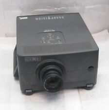 Sharp Vision XG-NV2E LCD Projector (Lamp Hours = 1261) PC Control VGA S-Video