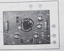 HAND BOOK OF INSTRUCTIONS FOR FREQUENCY METER SETS, SCR-211-A THRU AF AKA BC-221