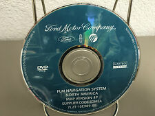 2007 Ford Edge / Expedition / Mustang / Fusion / F150 Navigation OEM DVD Map 4P