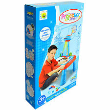 Kids Mini Creative Study Drawing Table Toy Set For Children & Toddlers - Blue