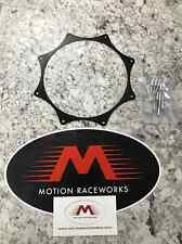"""Black Ano Exhaust Trim Ring for 4"""" exhaust w/ rivets Turbo Supercharger Nitrous"""