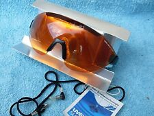 New Cycling Glasses UVEX naked lizard schwarz energy orange black retro bike