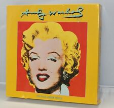 Vintage Andy Warhol Marilyn Monroe Jigsaw Puzzle 550 Piece ~ Sealed ~ WH