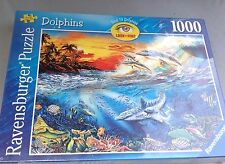 Anthony Casay SEAWORLD 1000 Jigsaw Puzzle SEALED Dolphin/Tropical Fish/Sea/Ocean