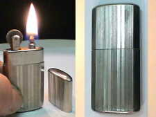 BRIQUET Ancien * Poilu WW1 / WW2 * Vintage fuel LIGHTER Feuerzeug Accendino