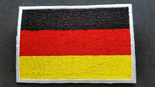NATIONAL COUNTRY FLAG SEW ON / IRON ON PATCH:- GERMANY