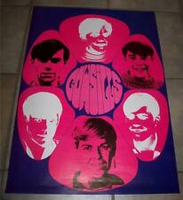 ORIGINAL 1968 VINTAGE COWSILLS FLOWER POWER PSYCHEDELIC PROMOTIONAL POSTER