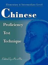 Chinese Proficiency Test Technique : Elementary and Intermediate Level (2001,...