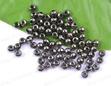 2MM 3MM 4MM 5MM 6MM 8MM 10MM Silver Gold Copper Bronze PLATED Ball Spacer Beads