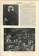1893 Short Chat With Lady Burton Drawing-room In Baker Street 1