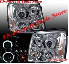 Cadillac Escalade 03-06 HID Projector Scheinwerfer CCFL Angeleyes Chrom 06 EXT