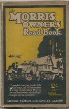 Morris Owners Road Book original 1926 book 155 pages + maps + adverts