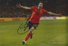 RUUD VAN NISTELROOY - Hand Signed 12x8 Photo - Man Utd United Holland - Football