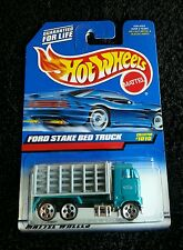 "Hot Wheels 1998 ""Ford Stake Bed Truck"" #1010 - NIP!"