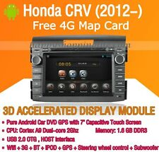 Android Car DVD GPS Navigation WIFI 3G for Honda CRV 2012-2014 CAN Bus Bluetooth