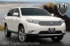 1PC HEAVY MESH GRILLE GRILL E&G FITS 2011 2012 2013 TOYOTA HIGHLANDER