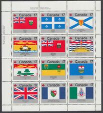 Canada - #832a Canada Day 1979 Flags Miniature Sheet  - MNH