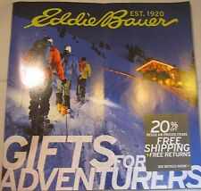 EDDIE BAUER CATALOG GIFTS FOR ADVENTURERS BRAND NEW