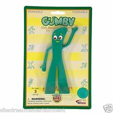 Gumby & Friends Retro Gumby Bendable Figure by NJ Croce 50th Anniversary Edition