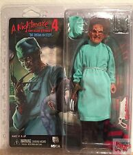 "SURGEON FREDDY The Dream Master P4 A Nightmare On Elm Street 8"" INCH 2016 FIGURE"