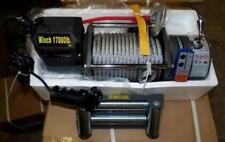 24Volt,elektrische Seilwinde,17000 lb,7727 kg Winde,CE,Funkfernbedienung,Neu!