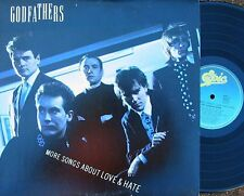 Godfathers ORIG OZ LP More songs about love & hate NM 1989 Alt Rock