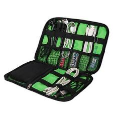 Large Digital Devices USB Cable Hard Drive Phone Organizer Kit Case Storage Bag