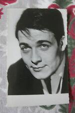 Photo carte postale Vintage Jacques Charrier Photo L Chevert cinéma