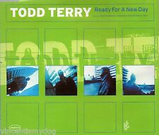 TODD TERRY - READY FOR A NEW DAY (6 track CD single)
