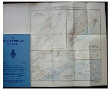 1933 Iceland  - UNKNOWN NORTH-EAST VATNAJOKULL - With Color Map - 4