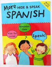 Children book learn Spanish phrases holidays Spain travel workbook español MFL