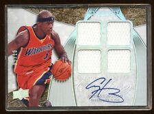 2008 EXQUISITE AL HARRINGTON AUTO #D 05/10 QUAD GAME WORN JERSEY AUTOGRAPH  RARE