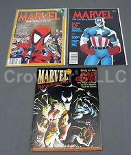 Marvel Year in Review 1989 1990 & 1993 NM Spider-Man Captain America Deadpool